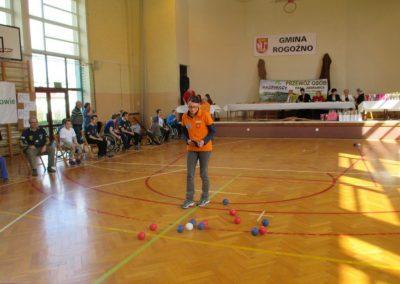 II Turniej Bocci Osób Niepełnosprawnych w Rogoźni 9 - Polska Boccia