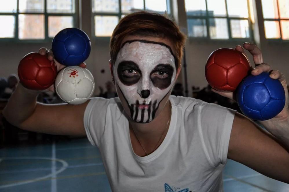 Halloween Boccia 3 - Polska Boccia