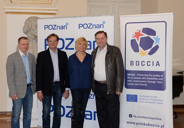 Erasmus+Sport information meeting in Poznan 1 - Polska Boccia