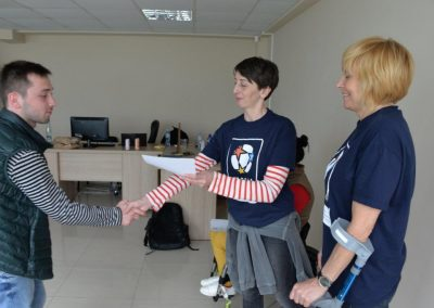 Boccia instructors and animators for Georgia 4 - Polska Boccia