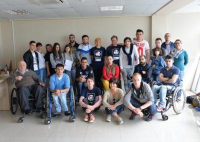 Boccia instructors and animators for Georgia 9 - Polska Boccia