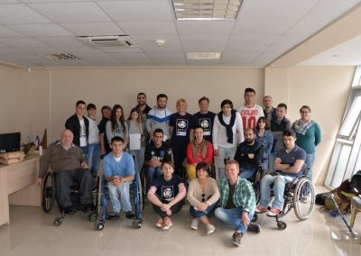 Boccia instructors and animators for Georgia 10 - Polska Boccia