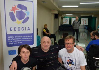 Boccia project effect 1 - Polska Boccia
