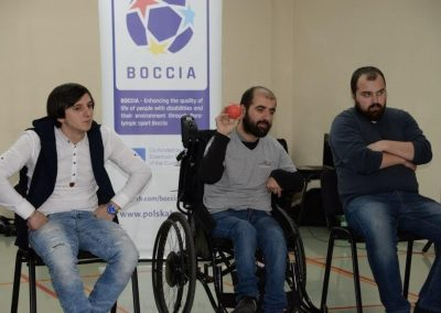 May 4th - workshop according to schedule 27 - Polska Boccia