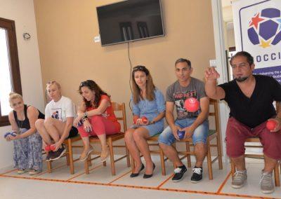 The next day of workshop in Greece 11 - Polska Boccia