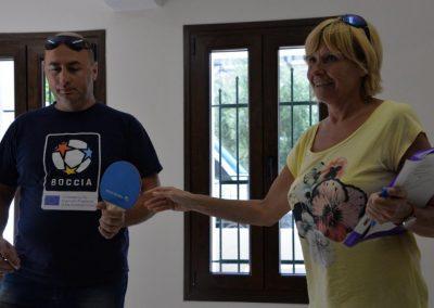 The next day of workshop in Greece 12 - Polska Boccia