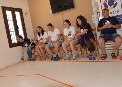 The next day of workshop in Greece 3 - Polska Boccia