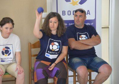 The next day of workshop in Greece 4 - Polska Boccia