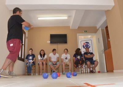 The next day of workshop in Greece 6 - Polska Boccia
