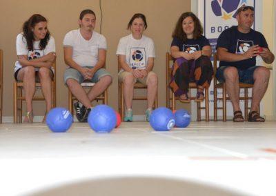 The next day of workshop in Greece 7 - Polska Boccia