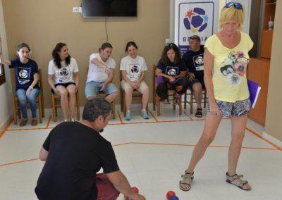 The next day of workshop in Greece 8 - Polska Boccia