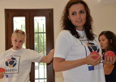 The next day of workshop in Greece 10 - Polska Boccia