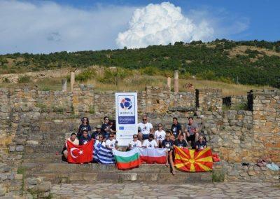 """Boccia - Erasmus+Sport"" in Vinica, Sztip and Burgala 20 - Polska Boccia"