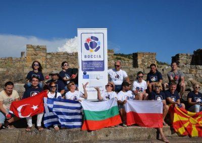 """Boccia - Erasmus+Sport"" in Vinica, Sztip and Burgala 21 - Polska Boccia"