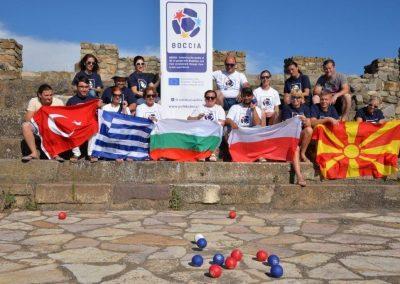 """Boccia - Erasmus+Sport"" in Vinica, Sztip and Burgala 1 - Polska Boccia"