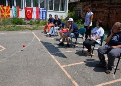 """""""Boccia - Erasmus+Sport"""" workshop in Delcevo 2 - Polska Boccia"""