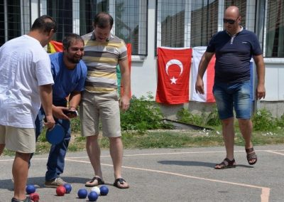 """""""Boccia - Erasmus+Sport"""" workshop in Delcevo 15 - Polska Boccia"""