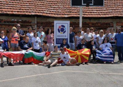 """""""Boccia - Erasmus+Sport"""" workshop in Delcevo 16 - Polska Boccia"""
