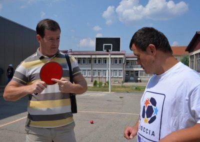 """""""Boccia - Erasmus+Sport"""" workshop in Delcevo 3 - Polska Boccia"""