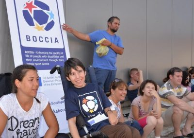 """""""Boccia - Erasmus+Sport"""" workshop in Delcevo 1 - Polska Boccia"""
