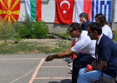 """""""Boccia - Erasmus+Sport"""" workshop in Delcevo 6 - Polska Boccia"""