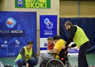 Polska Liga Bocci – III Turniej Eliminacyjny do Mistrzostw Polski w Skokach – 28-29 października 2016. Rezultaty Turnieju w grupie paraolimpijskiej 11 - Polska Boccia