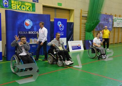 Polska Liga Bocci – III Turniej Eliminacyjny do Mistrzostw Polski w Skokach – 28-29 października 2016. Rezultaty Turnieju w grupie paraolimpijskiej 38 - Polska Boccia