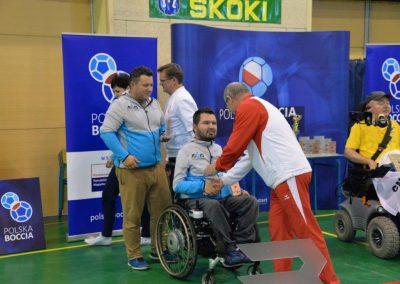 Polska Liga Bocci – III Turniej Eliminacyjny do Mistrzostw Polski w Skokach – 28-29 października 2016. Rezultaty Turnieju w grupie paraolimpijskiej 43 - Polska Boccia