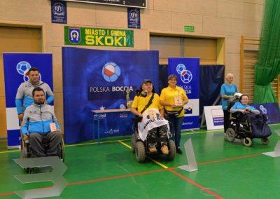 Polska Liga Bocci – III Turniej Eliminacyjny do Mistrzostw Polski w Skokach – 28-29 października 2016. Rezultaty Turnieju w grupie paraolimpijskiej 44 - Polska Boccia