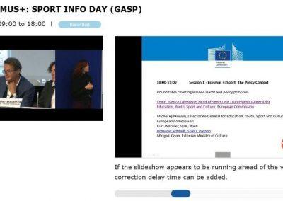 Erasmus+Sport Infoday in Brussels 11 - Polska Boccia