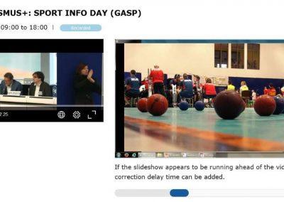 Erasmus+Sport Infoday in Brussels 12 - Polska Boccia