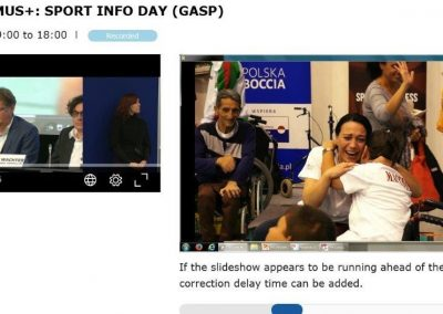 Erasmus+Sport Infoday in Brussels 13 - Polska Boccia
