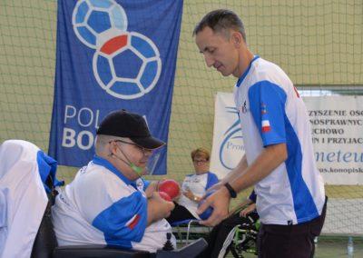 Kolejny dzień turnieju Bocci w Konopiskach 1 - Polska Boccia