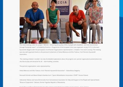 Bulgaria – Kyustendil, 10th-15th of July 2015 5 - Polska Boccia