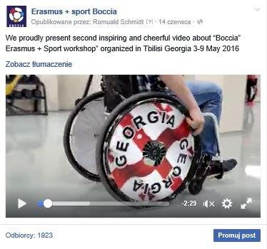 Georgia – Tbilisi, 3rd-10th of May 2016 28 - Polska Boccia