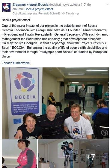 Georgia – Tbilisi, 3rd-10th of May 2016 30 - Polska Boccia