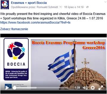 Greece – Kilkis, Pikrolimni, 24th of June to 1st of July 2016 4 - Polska Boccia