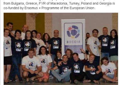 Poland – Wagrowiec, 23th-30th of August 2015 1 - Polska Boccia