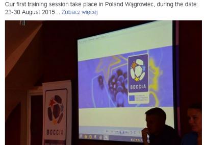 Poland – Wagrowiec, 23th-30th of August 2015 2 - Polska Boccia