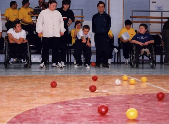 Historia wprowadzenia Bocci do Polski - I Regionalne Integracyjne Zawody Dzieci i Młodzieży w Bocci, Poznań ,1998 - Polska Boccia