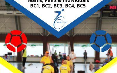 """SERDECZNIE ZAPRASZAM na XI  INTERNATIONAL BOCCIA TOURNAMENT  """"Prometeus-Cup 2021"""""""
