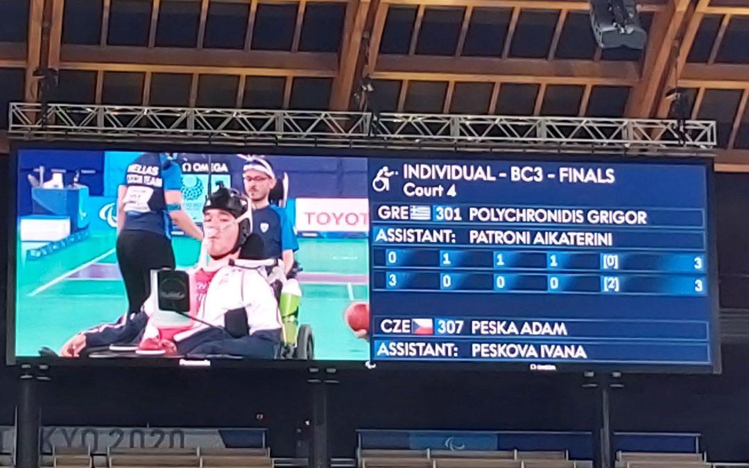Adam Peska BC3 z paraolimpijskim laurem w Tokio