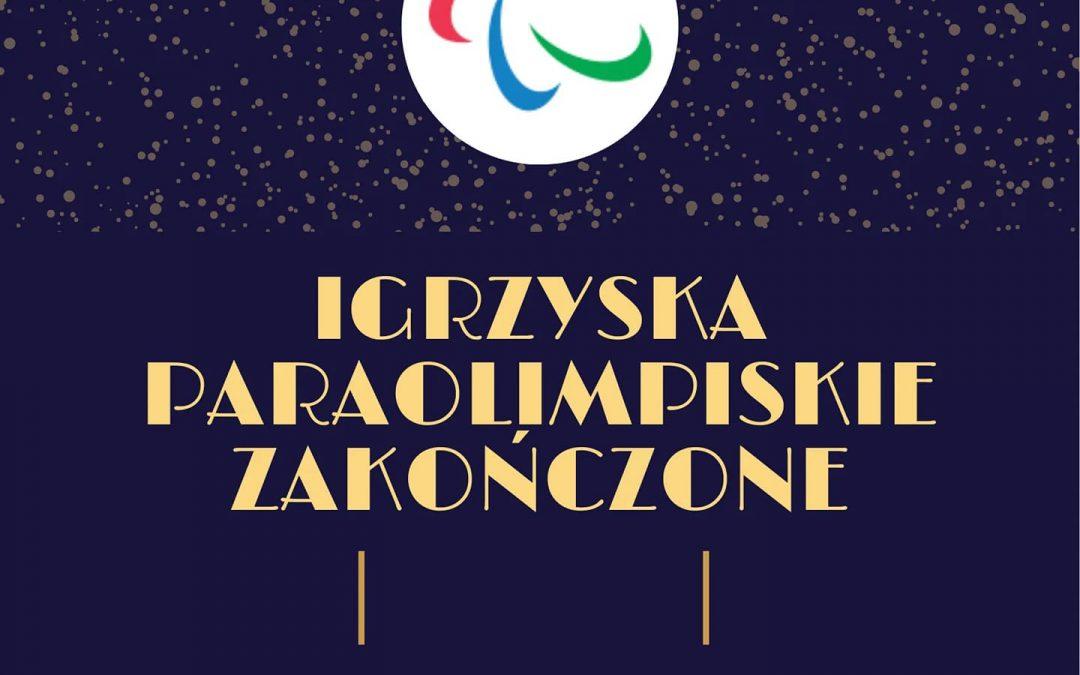 Ostatni post dotyczący igrzysk paraolimpijskich