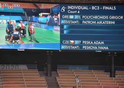 Sensacyjne zwycięstwo Adama Peski nad Grigorisem Polychronidisem 13 - Polska Boccia