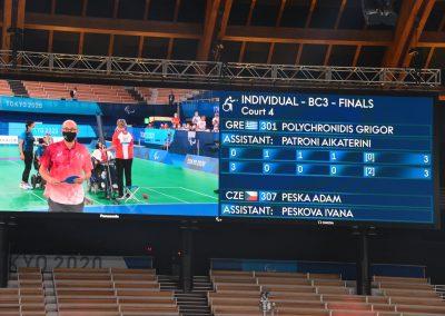 Sensacyjne zwycięstwo Adama Peski nad Grigorisem Polychronidisem 16 - Polska Boccia