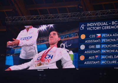 Sensacyjne zwycięstwo Adama Peski nad Grigorisem Polychronidisem 5 - Polska Boccia