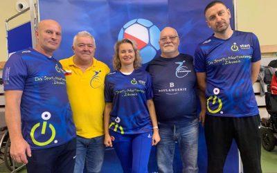 Przyjaciele Polskiej Bocci z Ukrainy grali w Konopiskach